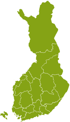 Cottages by Provinces of Finland